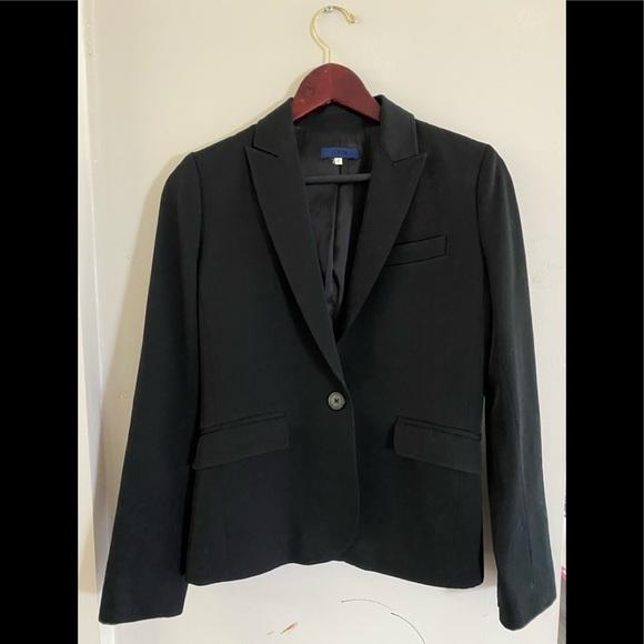 J Crew Black Blazer Size 0